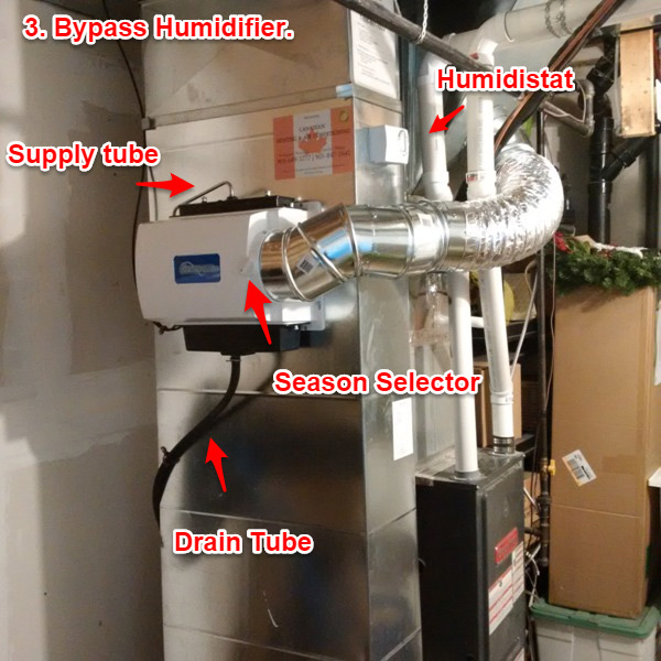Bypass humidifier