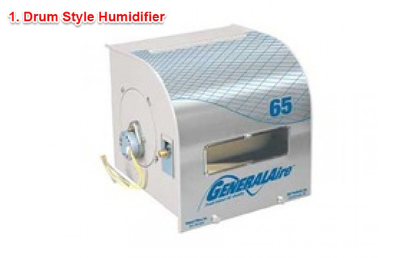 Drum style humidifier